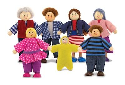 Melissa & Doug Doll Family; 12.7 x