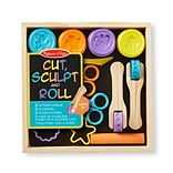 Cut Sculpt & Stamp Clay Play, 9.5x9.5x1.7