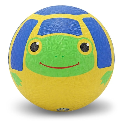Melissa & Doug Scootin' Turtle Kickball, Durable Rubber, Colorful, (6033)