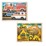 24-Piece Jigsaw Construction & Rescue