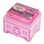 Melissa & Doug Jewelry Box; 6.25x5.75x5