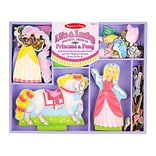 Lila & Lucky Magnetic Dress-Up Set,14.2 x 11.7 x 1.2,(9281)