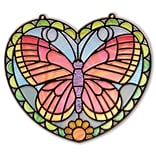 Stained Glass - Butterfly 11.25x10.9x0.7