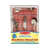 Melissa & Doug Lets Play House! Mealtime Utensil Set 8.5 x 5.5 x 1.3 (9347)