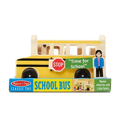 Melissa & Doug School Bus, 10 x 5.5 x 4.2 (9395)