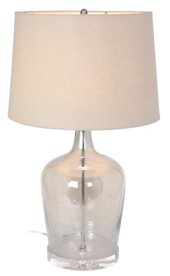 Marianahome Message In A Bottle 27'' H Table Lamp With Empire Shade