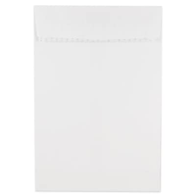 JAM Paper® 6 x 9 Open End Envelopes with Self Adhesive Closure, White, 500/box (356828777)