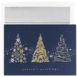 JAM Paper® Christmas Holiday Cards Set, Tree Melody, 16/pack (526863000)