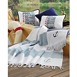 EcoCotton Sea Pool Organic Turkish Peshtemal Beach Towel