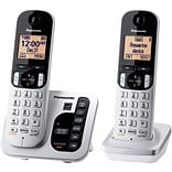 Panasonic Digital KX-TGC222S Cordless Answering System, 2-Handset System