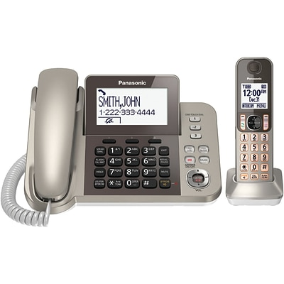 Panasonic Dect 6.0 Corded/cordless Phone System With Caller Id & Tad (1 Handset)