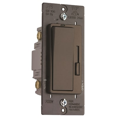 Pass & Seymour® Harmony® Incandescent Dimmer Switch; Dark Bronze (H703PDBCCV4)