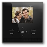 On-Q Wireless Interior Intercom Unit; Black