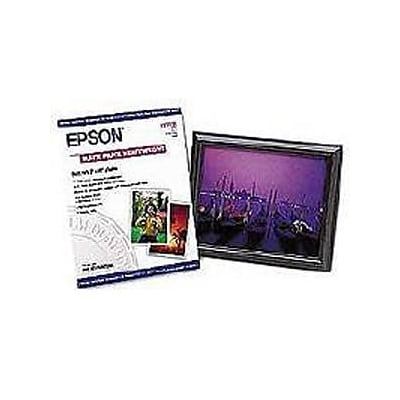 Epson ® Heavyweight Premium Matte Presentation Paper; 10 x 8, White, 50 Sheets/Pack (S041467)