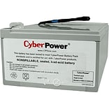 Cyberpower 12 VDC 12000 mAh UPS Replacement Battery Cartridge for PR1000LCD UPS (RB12120X2A)