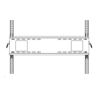 NEC WMK-6598 Large Tilt Display Screen Wall Mount