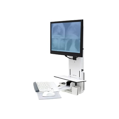 Ergotron  61-080-062 StyleView  24 Sit-Stand Vertical Lift for Patient Room