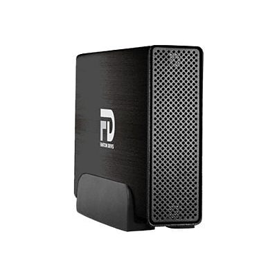 Fantom Professional 3TB 7200 RPM USB 3.0 External Hard Drive (Brushed Black)