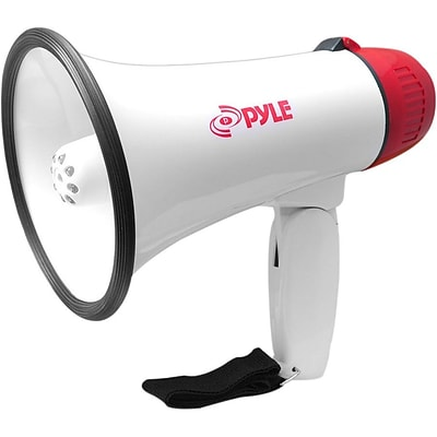 Pyle PMP37LED Professional Megaphone/Bullhorn with Siren & LED Lights