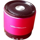 Worryfree Gadgets Zeepad Mini Bluetooth 2.1 Speaker BTSPK; Portable, Pink