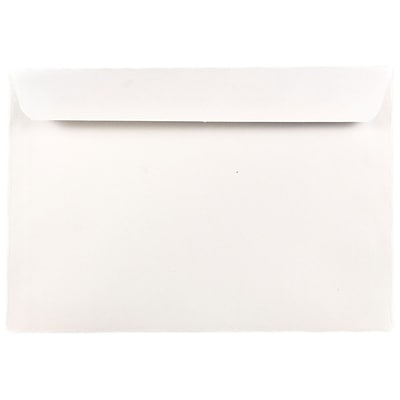 JAM Paper® 7 x 10 Booklet Envelopes, White, 1000/carton (5528B)