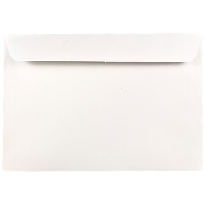 JAM Paper® 7.5 x 10.5 Booklet Envelopes, White, 25/pack (4246)