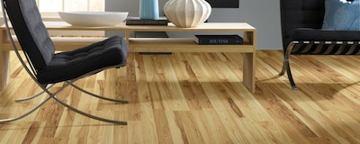 Shaw Floors Natural Values 8'' X 48'' X 6.35mm Hickory Laminate In Abbeyville Hickory