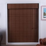 Top Blinds Arlo Blinds Bamboo Roman Shade; 36 W x 54 L