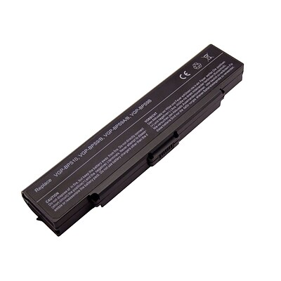 6-Cell 4400mAh Li-Ion Laptop Battery for SONY, (NM-PBS9/B)