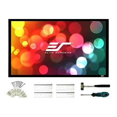 Elite Screens® SableFrame 2 Fixed Frame Projector Screen; 109