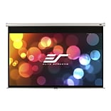 Elite Screens Manual 4:3 Pull Down Projector Screen; 135 degree