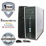 Refurbished HP ELITE 8000 500G HDD 4G DDR3 RAM, Core 2 Duo E8500 3.16GHz , W7Pro 64
