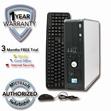 Refurbished DELL 780 1TB HDD 8G DDR3 RAM, Core 2 Quad Q6600 2.4GHz, Windows 7 Pro,  64 Bit