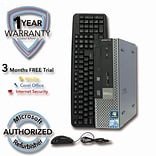 Refurbished DELL 780 160G HDD 4G DDR3 RAM, Core 2 Duo E8400 3.0GHz, W7Pro 64