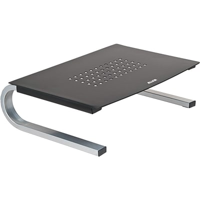 Allsop® Metal Monitor Stands Steel, Black/Gray/Silver