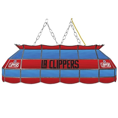 Trademark Global® 40 Tiffany Lamp, Los Angeles Clippers NBA