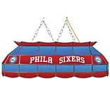 Trademark Global® 40 Tiffany Lamp, Philadelphia 76ers NBA