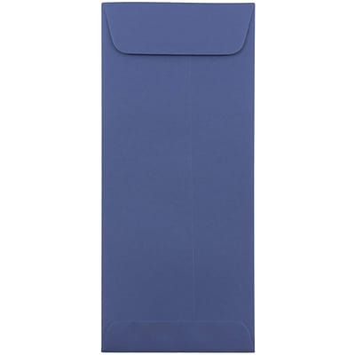JAM Paper® #10 Policy Envelopes, 4 1/8 x 9 1/2, Presidential Blue, 25/pack (263912999)
