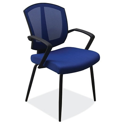 OfficeSource 204BLU Sprint Series Side Chair with Arms
