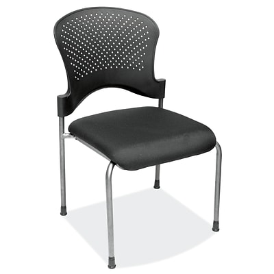 OfficeSource 2794TGBLK Casi Series Guest/Side Chair w/o Arms