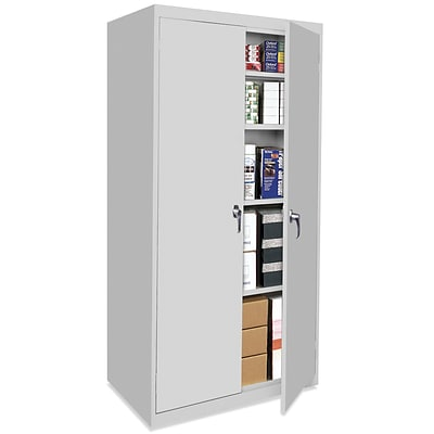 OfficeSource Budget Storage Cabinets Series, 4 Shelf Cabinet