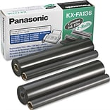Panasonic® #KXFA136 Fax Ribbon Refills for #KXFA135 Thermal Transfer Ribbon Cartridge; 2 per Box