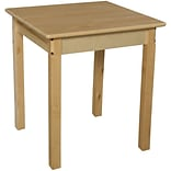 Wood Designs 24 Square Activity Table; 27 H x 24 W x 24 D