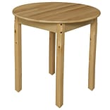 Wood Designs 30 Round Activity Table; 27 H x 30 W x 30 D