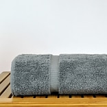Bare Cotton 6 Piece Turkish Cotton Towel Set; Gray