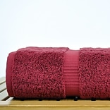 Bare Cotton 6 Piece Turkish Cotton Towel Set; Cranberry