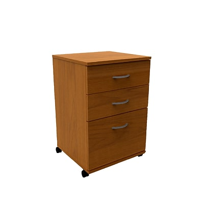 Essentials 3-Drawer Mobile Filing Cabinet from Nexera 687174996355