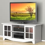 Pinnacle 56-inch TV Stand from Nexera-White