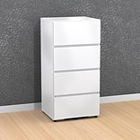 Blvd 3-Drawer Storage Unit-Filing Drawer