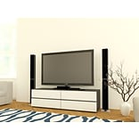 Allure 60 TV Stand-2 Drop-Down Doors